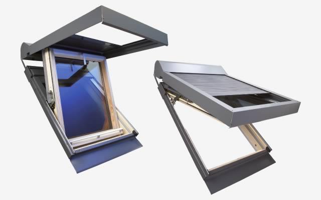 Volet solaire toiture